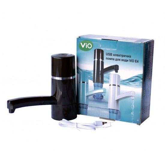 Помпа электрическая Vio E4 Black на бутыль 19 литров